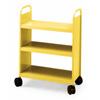 21051 - 3 Flat Shelf Booktruck