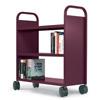 21100 - 3 Flat Shelf Booktruck