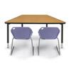 25600 - Trapezoid Reading Table