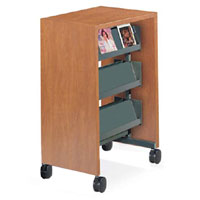 Nomad Mobile Literature/Magazine Carts