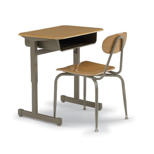 Silhouette Student Desk