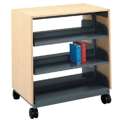 Flat Shelf Nomad Book Cart