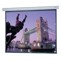 Da-Lite Cosmopolitan Electrol®  Electric Projection Screen