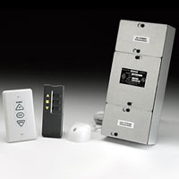 Da-Lite Low Voltage Control System with Wireless Remote Receiver and Transmitter