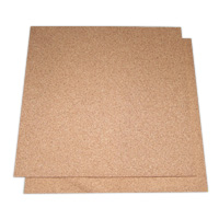 Unframed Corkboard Sheet Material