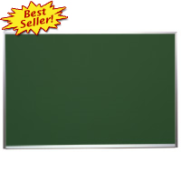 Wall Mounted Chalkboards & Blackboards.  Black, Green. Magnetic and Composition.  Custom Sizes Available.