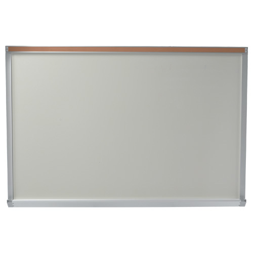 Contractor Series Whiteboard with Map Rail and Box Tray