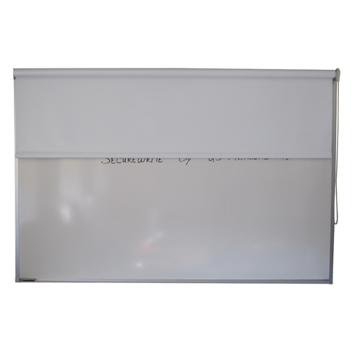 Secure-Write Porcelain Magnetic Whiteboard by US Markerboard