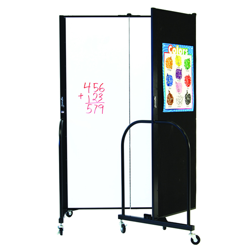 "6""H Freestanding Portable Writeable Room Divider"