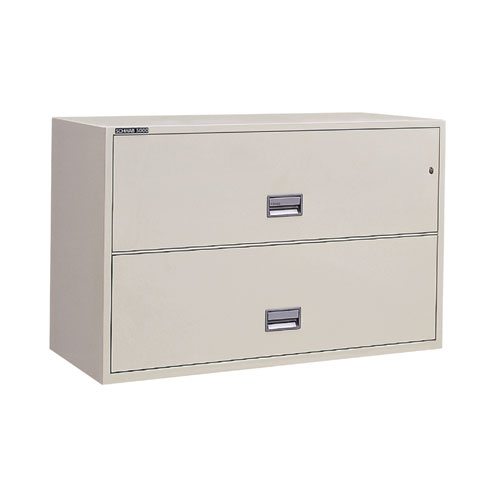 "Series 5000 Insulated 43""W Lateral File Cabinet"