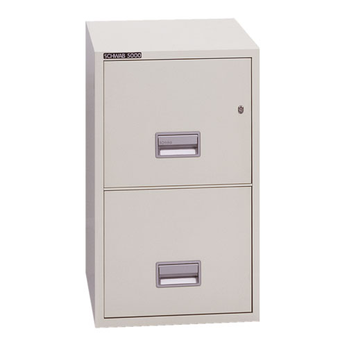 2-Hour Series 5000 Insulated Vertical File Cabinet
