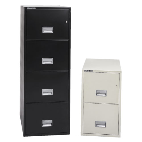Series 5000 Insulated Vertical File Cabinet - Letter Size