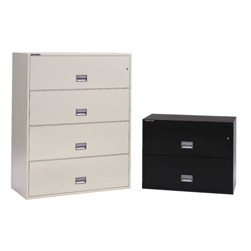 "Series 5000 Insulated 36""W Lateral File Cabinet"