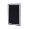Traditional Indoor Enclosed Recycled Rubber Bulletin Board