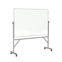 Double Sided Magnetic Reversible Whiteboard
