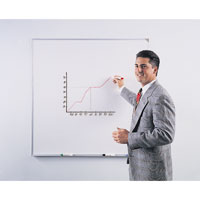 Wall-Mounted Whiteboards with Invisible Grid Lines