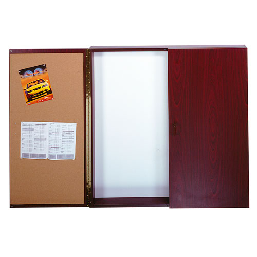 Traditional Conference Room Cabinets with White Markerboard