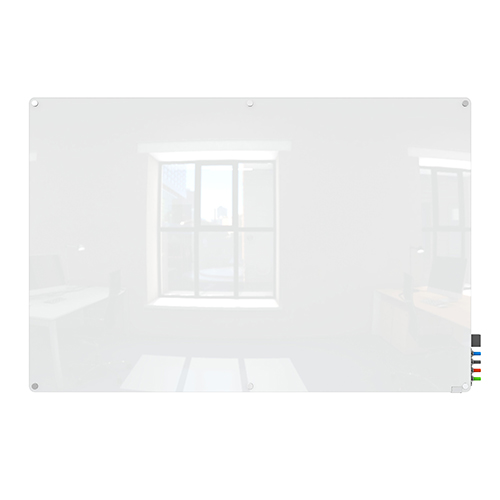 Harmony Colors Non-Magnetic Glass Board