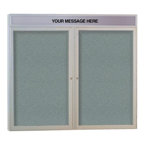 Enclosed Indoor/Outdoor Bulletin Boards
