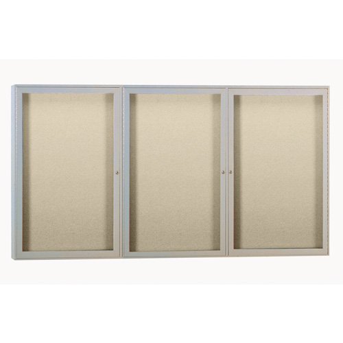 Enclosed Fabric Bulletin Boards with Aluminum Frame