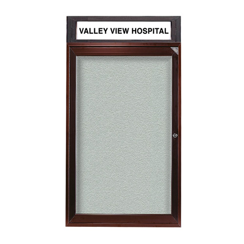Enclosed Indoor/Outdoor Bulletin Boards