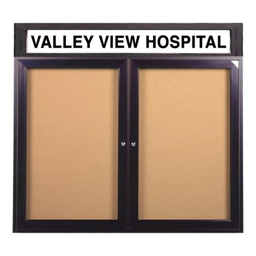 Enclosed Indoor Bulletin Boards