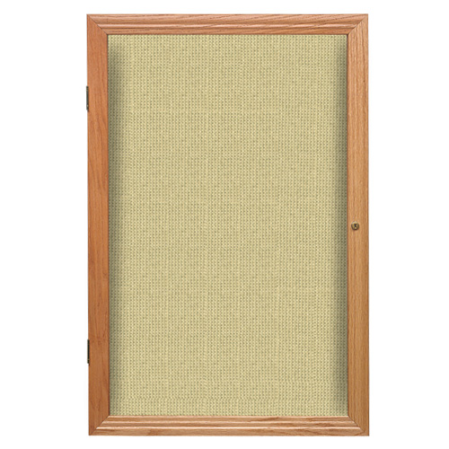 Enclosed Fabric Bulletin Boards with Wood Frame