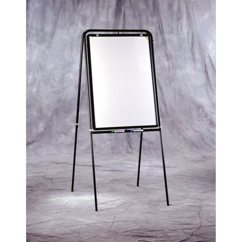 "Ghent Phantom Line Easel with Attached 36"" x 25"" Double-Sided Rotating White Markerboard with ""Phantom"" 2"" x 2"" Grid at Sears.com"