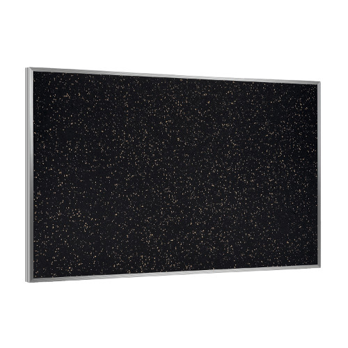 Aluminum Frame Recycled Rubber Bulletin Board