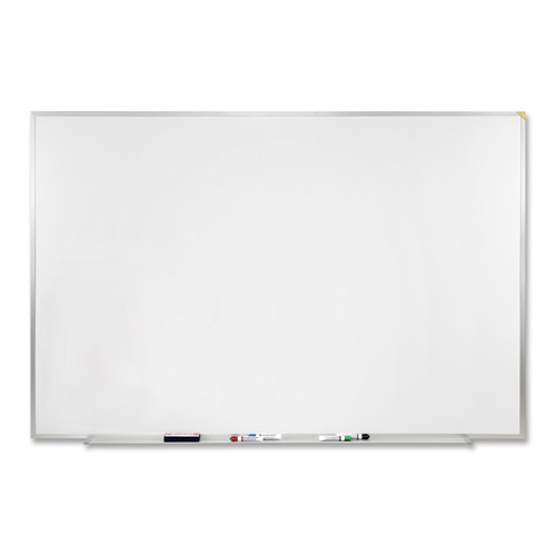 """Ghent 24""""H x 36""""W Wood-Framed Traditional Centurion White Markerboard with 1/4"""" Hardboard Backing with 4 Markers, Full-Length Tray at Sears.com"""