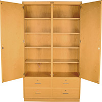 GSC-8 Tall Storage Cabinet