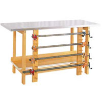 Glue and Stain Table