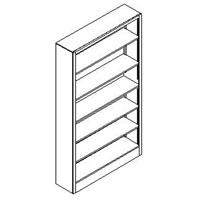 Open Shelf Storage Units