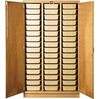 Tote Tray Cabinet