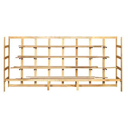 Wood Lumber Rack