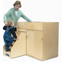 Toddler Changing Cabinet