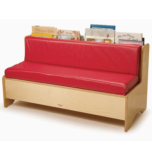 Reading Couch with Book Storage
