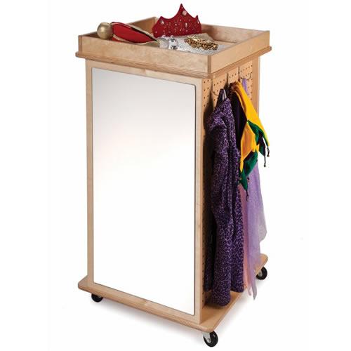 Revolving Dress-Up Cabinet