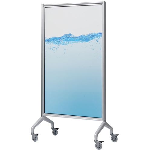 Glass Whiteboards - Egan V-Series GlassWrite Mobile ...