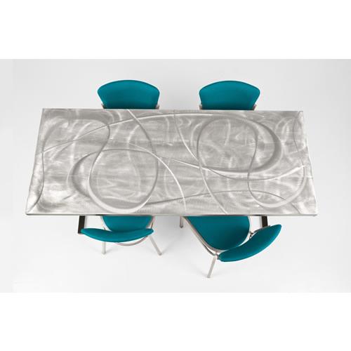 Aluminum Swirl Tables