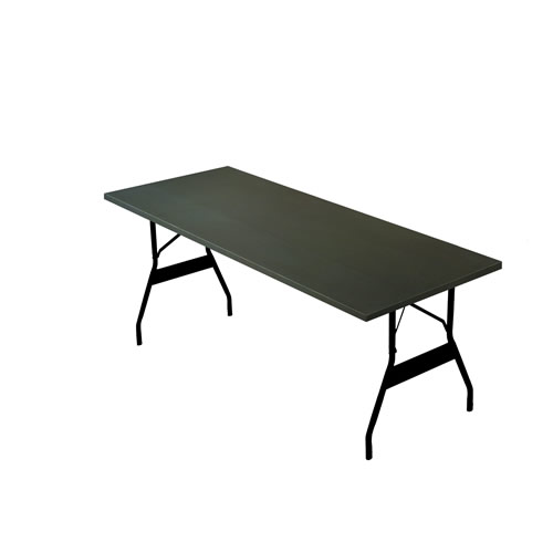 MardiGras Rectangle Aluminum Table