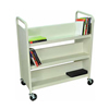 "37""W x 18""D x 42""H - Putty Finish - 6 Shelves"