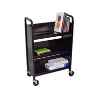 Metal Book Carts