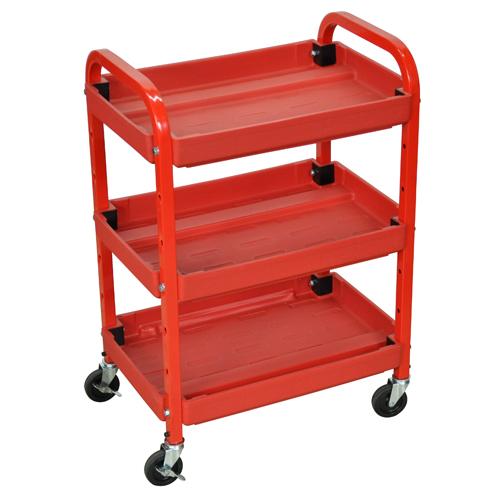 Adjustable Shelves Utility Cart