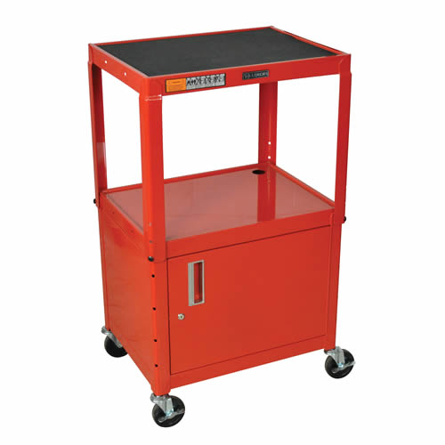 Steel Adjustable Height Av Carts