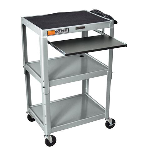 Steel Adjustable Height Av Carts