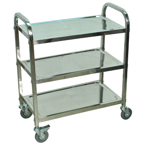 Stainless Steel Flat Shelf Carts