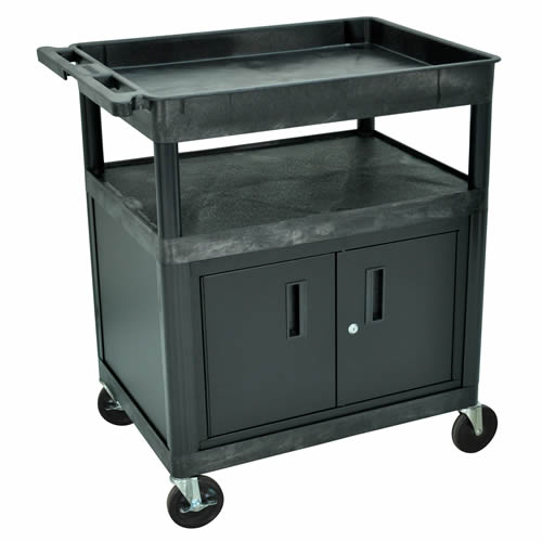 Utility Cabinets with Tub Shelves