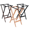 Deluxe Wood Tray Stand