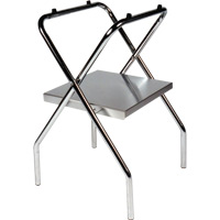 Folding Tray Stand With Solid Shelf